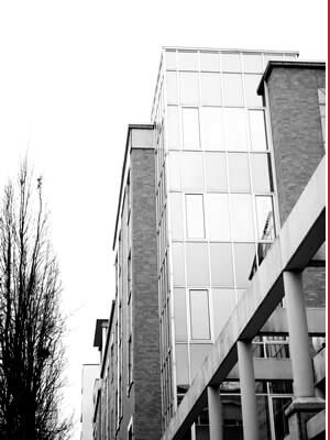 Die Kanzlei in der Süderstraße in Hamburg Hammerbrook